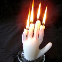 The Spell of the Dead Man's Hand: DIY Hand of Glory Candle Prop