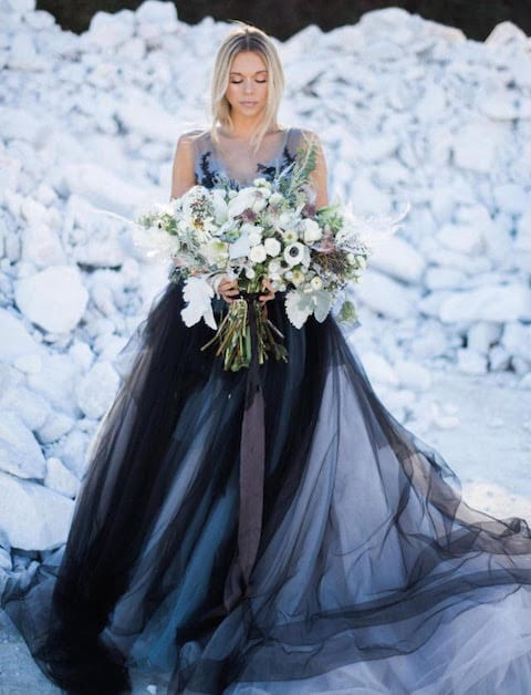 Non-Traditional Wedding Dresses   The Yes Girls