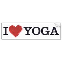 Write a winning yoga bumper sticker