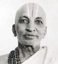 Krishnamacharya, chief designer of Ashtanga Yoga, teacher of Pattabhi Jois