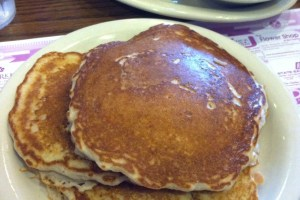 Yooper Blueberry Buttermilk Pancakes