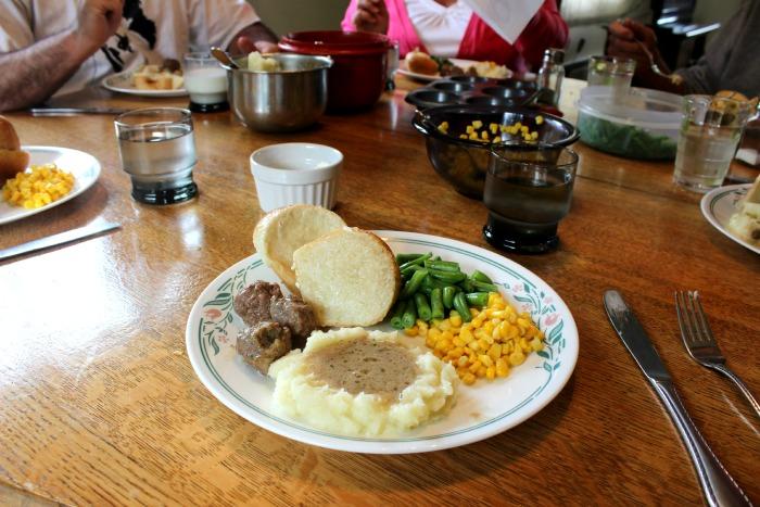 meatball dinner