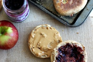 Apple Spiced English Muffins