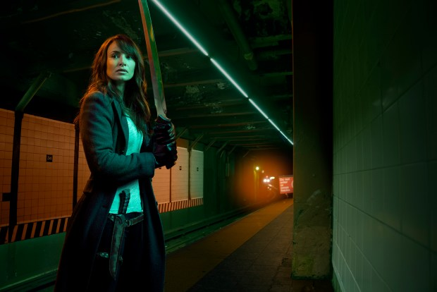 THE STRAIN -- Pictured: Mia Maestro as Nora Martinez. CR. Robert Sebree/FX