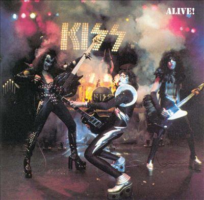 Kiss Alive front cover