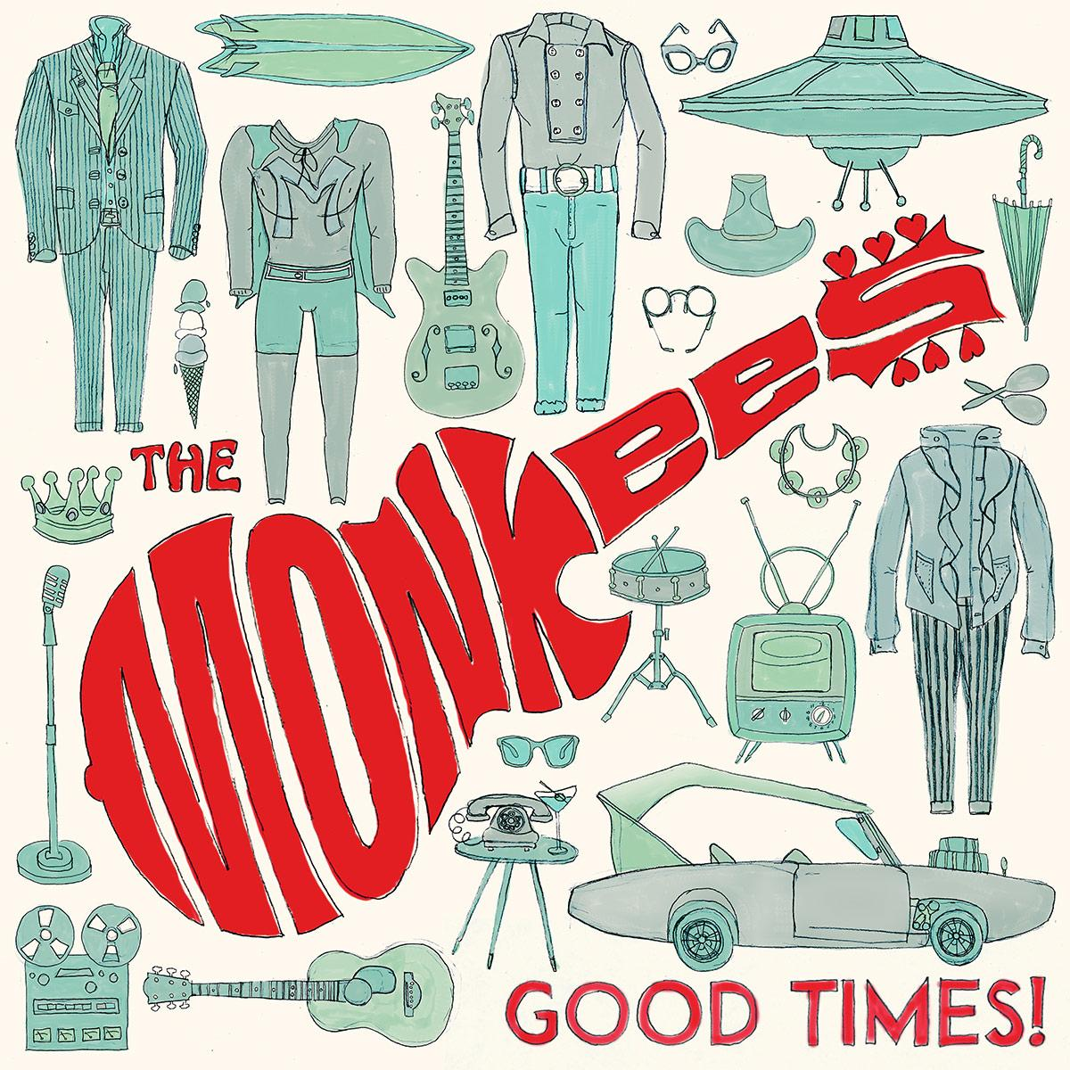 "Album Review: The Monkees - ""Good Times!"""