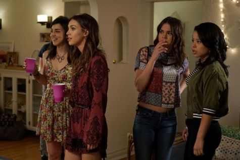 """THE FOSTERS - """"Now for Then"""" - As Callie begins working on her senior project photographing her former foster homes, each visit brings new perspective on her past on an all-new episode of """"The Fosters,"""" airing MONDAY, JULY 18 (8:00 - 9:00 p.m. EDT), on Freeform. (Freeform/Eric McCandless) CYRINA FIALLO, DENYSE TONTZ, MAIA MITCHELL, CIERRA RAMIREZ"""