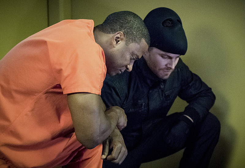 John Diggle Returns to Team 'Arrow'