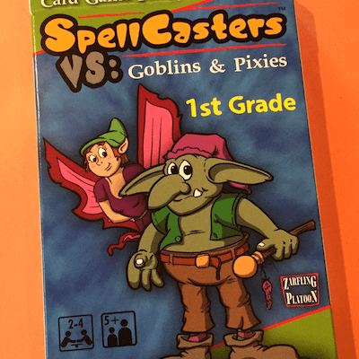 SpellCasters VS: Goblins & Pixies is Now on Amazon!