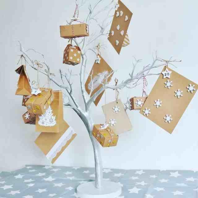 Our advent Calendar fairy light tree! Nearly ready for adventhellip