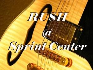 RUSH @ Sprint Center
