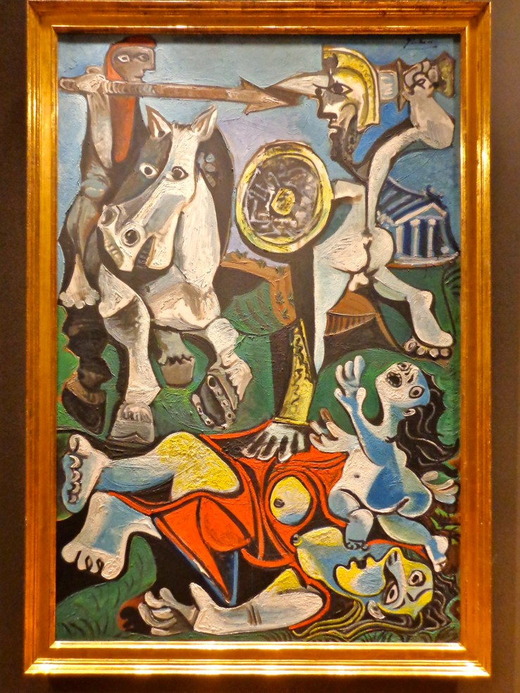 "Pablo Picasso, ""Rape of the Sabine Women,"" 1963"