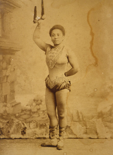 Collection Zimmerli Art Museum at Rutgers University, Museum Miss La La around 1880. via NYTimes.