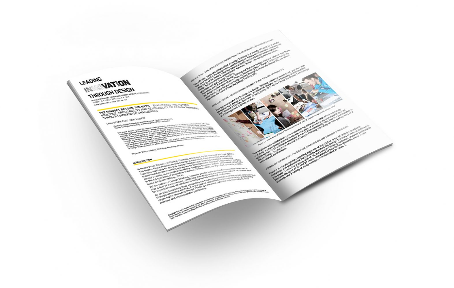 thinkbrisk.com - BRISK Business Design Thinking - case: Mindset beyond the Myth Impact of Workshops Research DMI