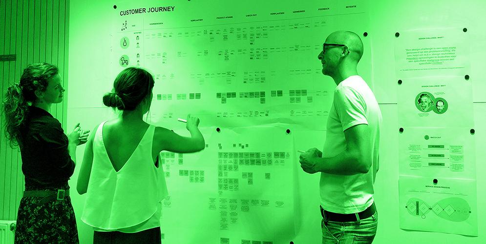 BRISK Service Design Workshop to cocreate future retail journeys