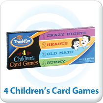 4 Children's Card Games Featured