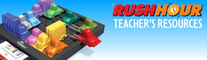 Rush Hour Teacher's Resources Banner