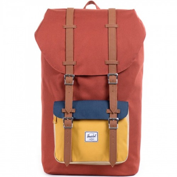 Herschel Little America Backpack Yellow