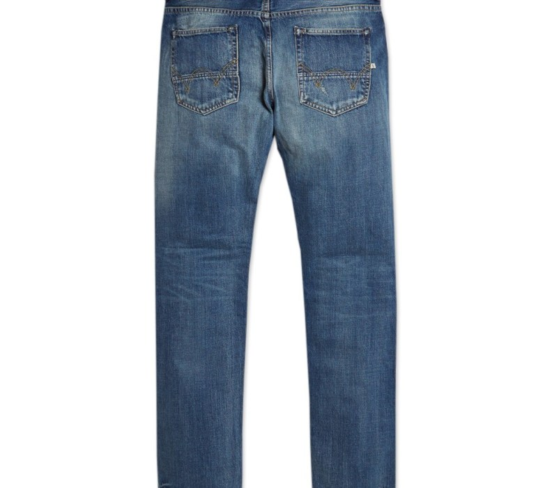 Edwin ED-80 63 Rainbow Selvage Denim - G4 -Slim Tapered Fit - Blue Wash