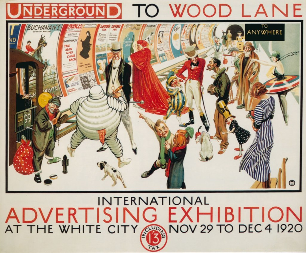 Advertising Exhibition Print (1920)
