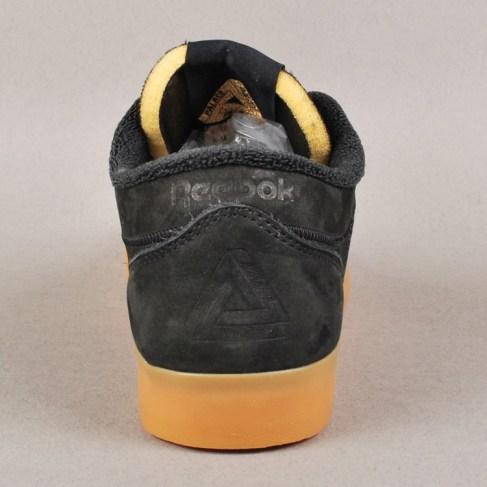 Palace x Reebok Workout Low Clean FVS Skate Shoes - Black