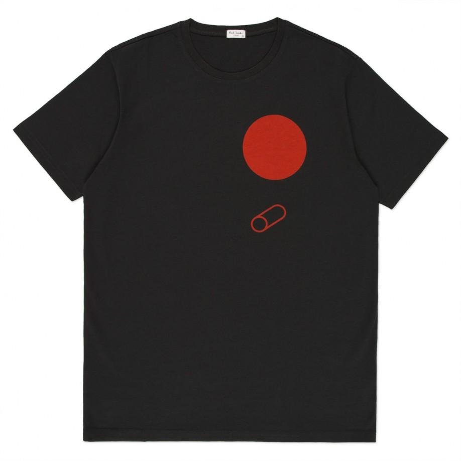 Paul Smith - Black Birdhouse Print T-Shirt