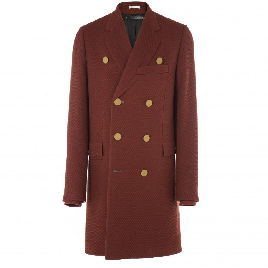 Paul Smith Coats - Burnt Red Double Breasted
