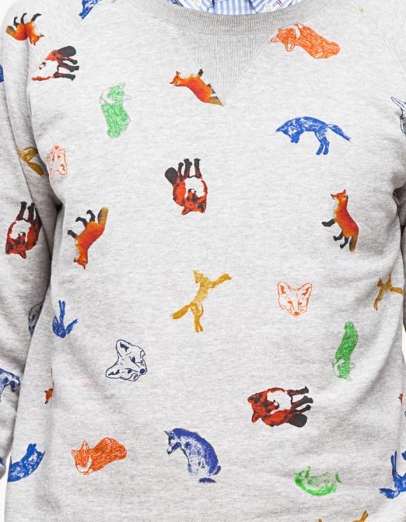 Maison Kitsune Childish Sweater