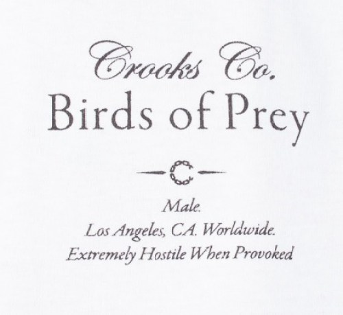 Crooks & Castles Birds of Prey Tees