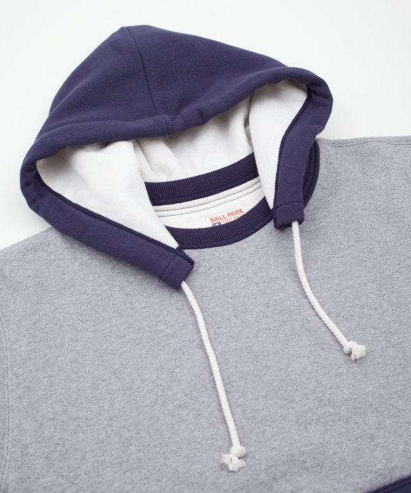 Joe McCoy Double Face After Hooded Sweatshirt