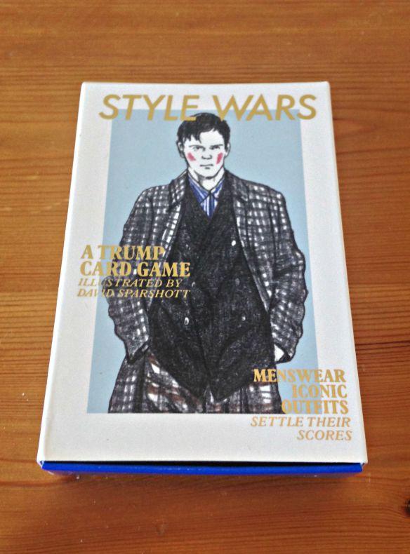 Style Wars Top Trump Menswear Game