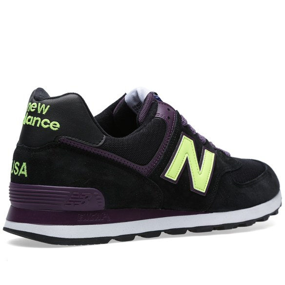 new balance 574 connoisseur painters black grape