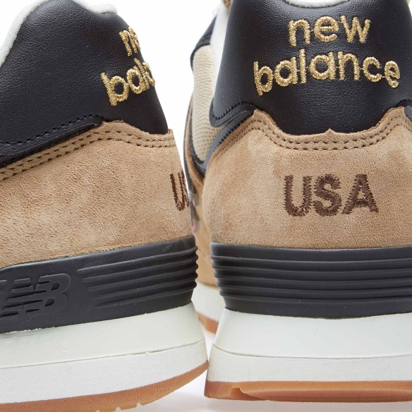 New Balance US574BB Tan and Orange