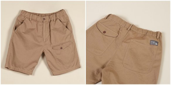 Universal Works and Edwin Mens Cotton Shorts