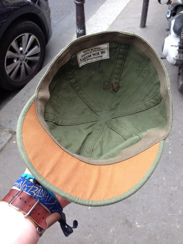 The Real McCoy's N3 Utility Cap