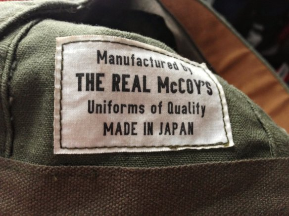 The Real McCoy's N3 Utility Cap