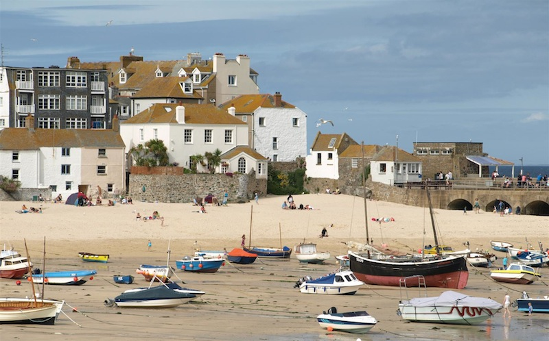 Saint ives a winter escape to the edge of england