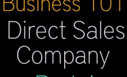 Start A Business Direct Sales Comapny Part 1