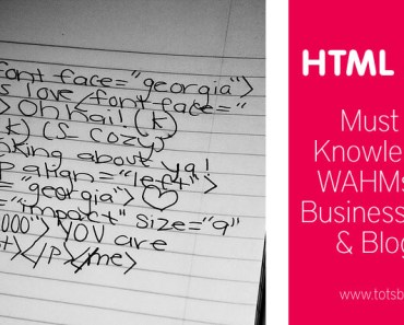 Must Know HTML Basics