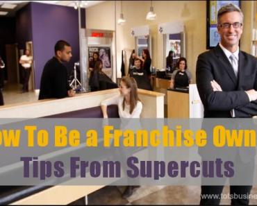 How To Be a Franchise Owner - Tips From Supercuts #franchising