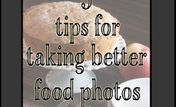 5 tips for taking food photos