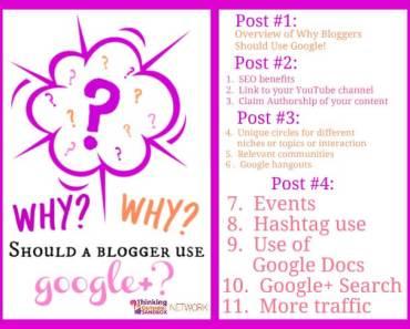 Benefits of using Google+