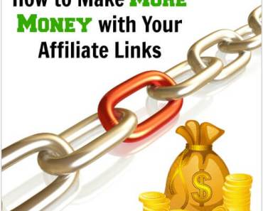 How to make more money with your affiliate links!