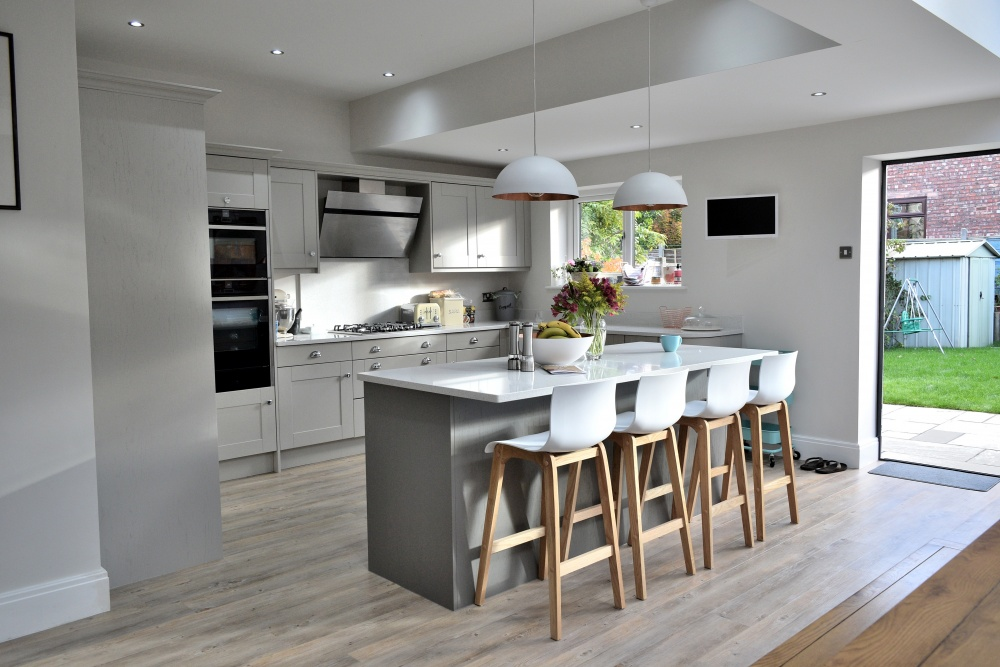 Architects photo of Altrincham house kitchen