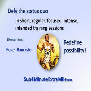 The Sub 4 Minute Extra Mile