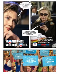 Vote Early - It's Over in October by Luis Moro