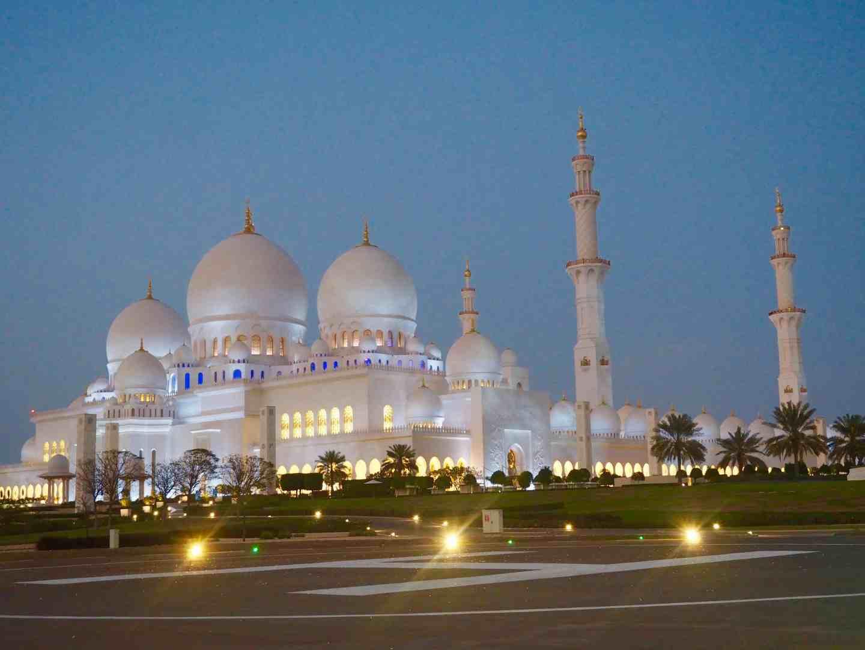grand mosque abu dhabi