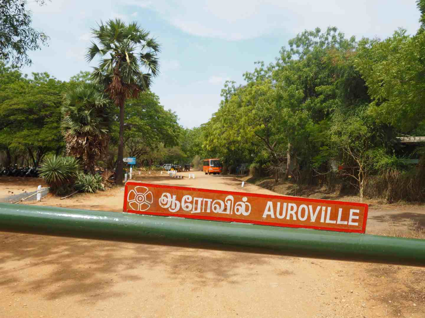getting to auroville