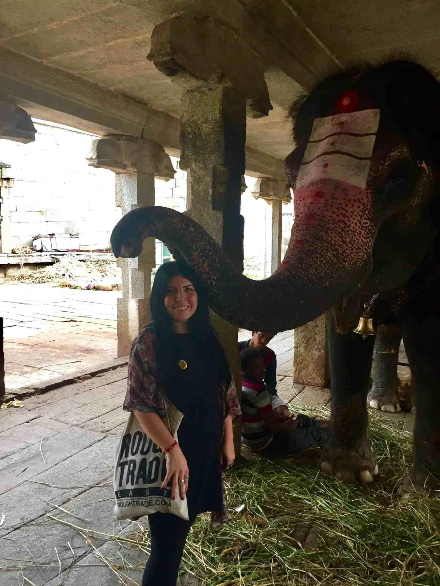 laxshmi elephant hampi
