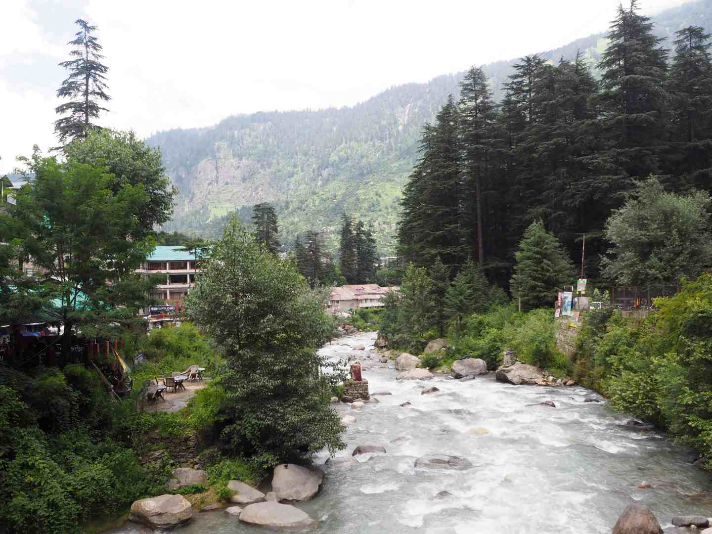 beas river old manali